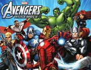 Avengers assemble promo poster