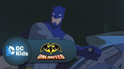 DC COMICS: Batman Unlimited (s1 ep06 The Race is On! Batman and The Flash vs. Cheetah)