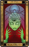 The high priestess oracle by ne0nic0