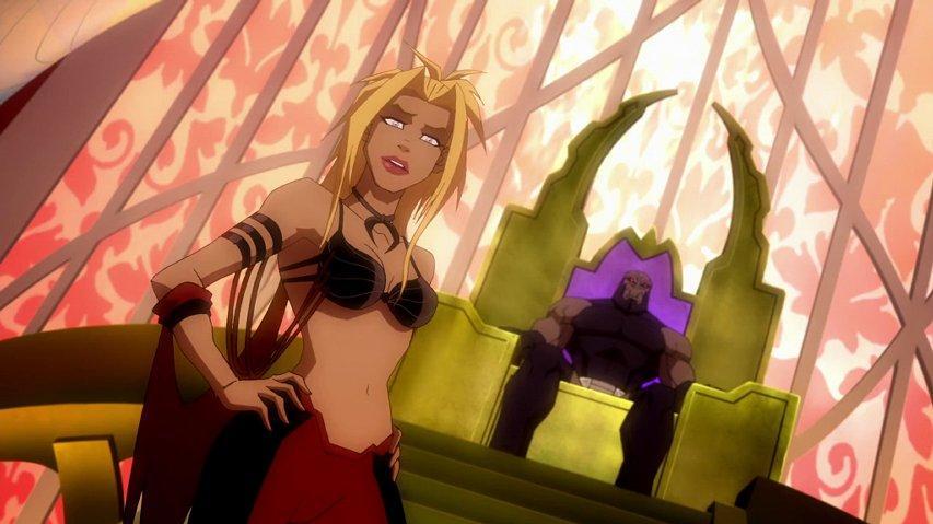 Darkseid's Kara on Apokolips