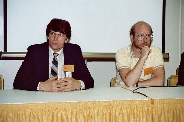 File:Jim Shooter and Steve Englehart.jpg