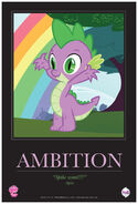 MLPFiM ComicCon2012 Trolley Poster Ambition FMA