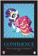MLPFiM ComicCon2012 Trolley Poster Confidence FMA
