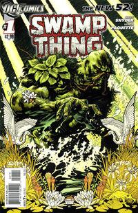 Swamp Thing 2011 1