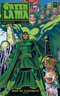 Green Lama Man of Strength 1