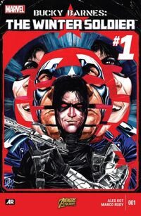 Bucky Barnes The Winter Soldier 1