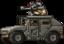 Commando Rush Grey Humvee