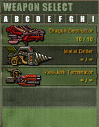 Weapon Category I