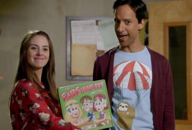 File:Annie and Abed introduce The Ears Have It.jpg