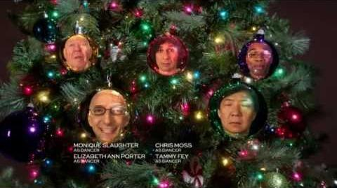 "Community S03E10 Carol of the Bells End Tag ""Dean, Chang , Pop Pop, My Name Is Alex, *raspberry*"""