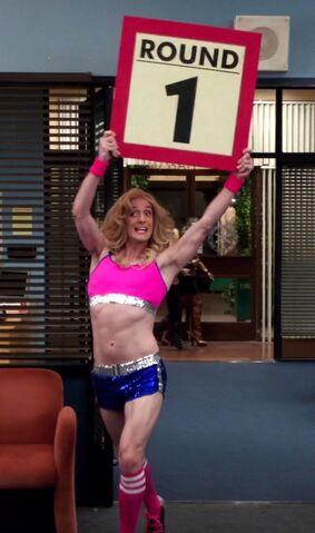File:Dean as ring girl.jpg