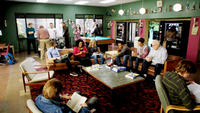 Greendale student lounge
