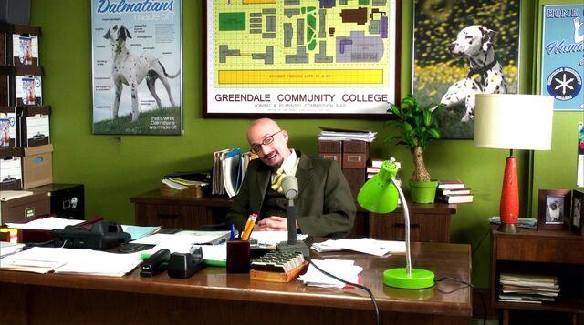 File:Dean Pelton's office Bioloy 101.jpg