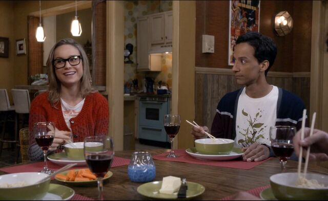 File:Rachel and Abed eating noodles.jpg