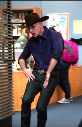 File:Dean Pelton dressed as Cowboy Jeff.jpg