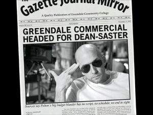 3x08-Dean Pelton newspaper 1