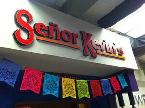 Senor Kevin's entrance