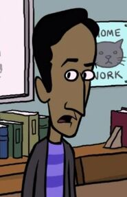 Deans cartoon abed