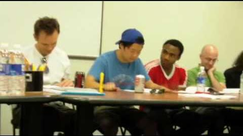 Hanging With the Community Cast Table Read