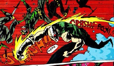 Kickpuncher comic panel