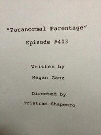 Paranormal parentage