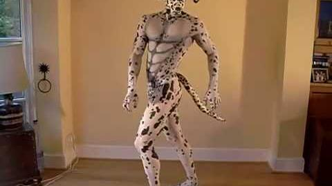 Humanimal presents the Dalmation - www.circusperformers