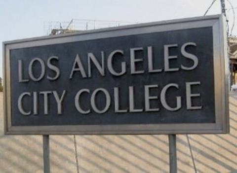 File:Los Angeles City College sign.jpg