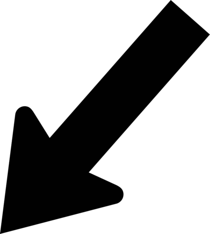 File:Arrow diagonal down left.png