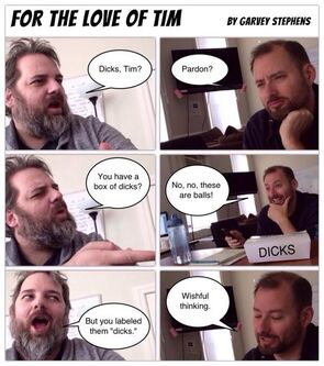 Tim and Dan comic strip 2