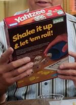 Yahtzee box back