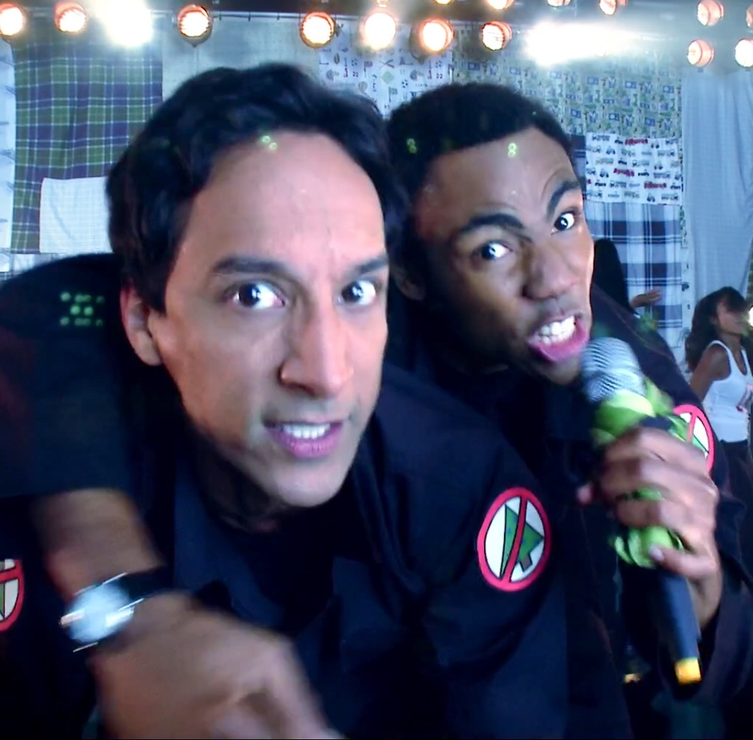 Image - Troy and Abed Christmas Infiltration.jpg | Community Wiki ...