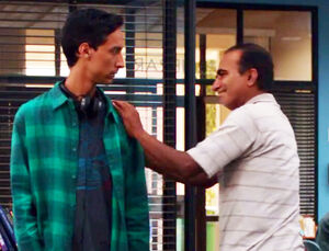 Abed and his father