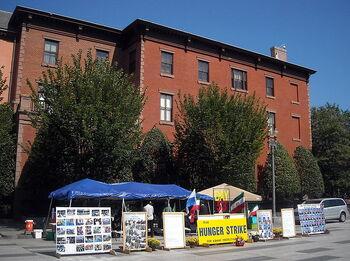 Hunger strike on Pennsylvania Avenue