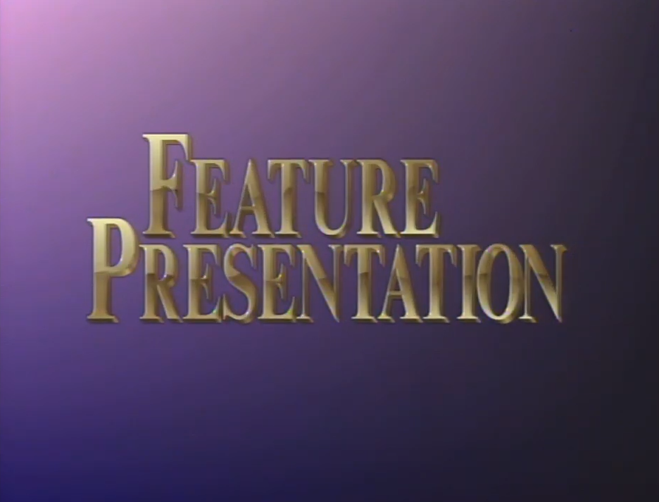 First Paramount Home Entertainment Feature Presentation bumper (golden words)
