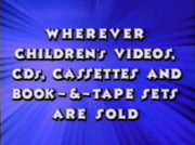 Only from Sony Wonder Bumper 1998-2002