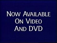 Now available on video and dvd