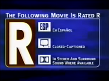 HBO rated R 1997