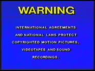 20th Century Fox Video 1977-1984 Australian Warning (S1)