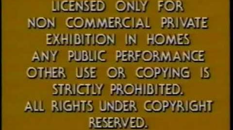"Paramount Warning screen ""Acid Trip"" Varient -2"