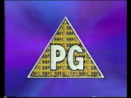 BBFC PG Card (CIC Video 1997)