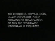 BBC Video Warning Screen (1995)