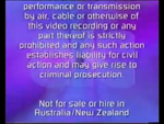CIC Video Warning (1997) (Variant 2) (S3)