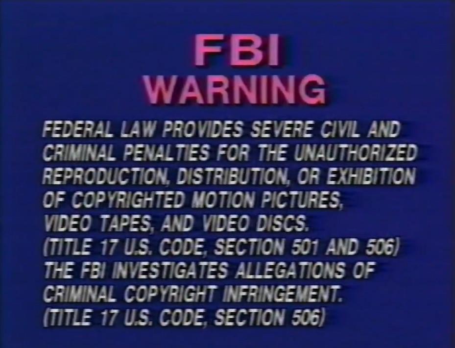 Vidmark Entertainment (Warning 3)