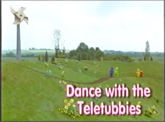 DANCE WITH THE TELETUBBIES TITLE CARD