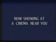 Now Showing at a cinema Near You Disney 1991 ID