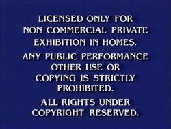 Third Paramount Home Entertainment warning screen (third variant)