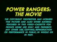 20th Century Fox Warning Scroll 1995 (S1)