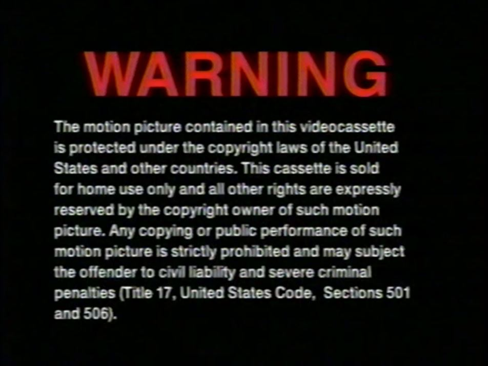 Trimark Home Video-Lionsgate Home Entertainment (Warning 1)