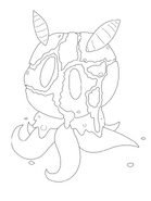 Magmawwl coloring page