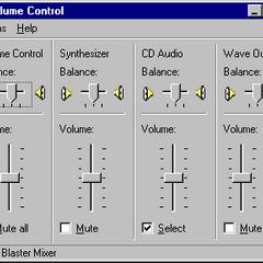 Volume Control in Windows NT 4.0